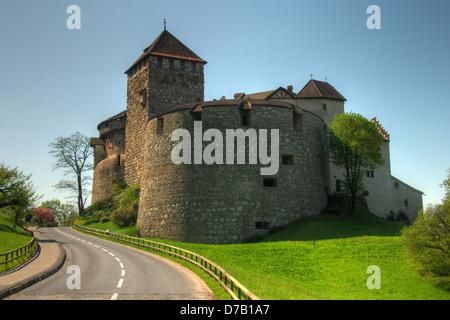 Vaduz castle, Liechtenstein - Stock Photo
