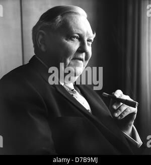 Undated picture of Ludwig Wilhelm Erhard, German politician (CDU) and Chancellor of West Germany from 1963 until - Stock Photo