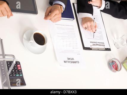 Job interview - Stock Photo