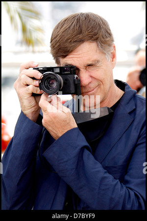 Gus Van Sant 2011 Cannes International Film Festival - Day 3 - Restless - Photocall Cannes, France - 13.05.11 - Stock Photo