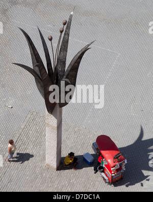 Plaza Vieja, Havana, Cuba - Stock Photo
