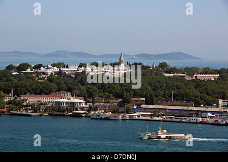 Topkapi Palace, Istanbul, Turkey - Stock Photo