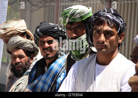 Taliban militants join peace process in Heart province - Stock Photo