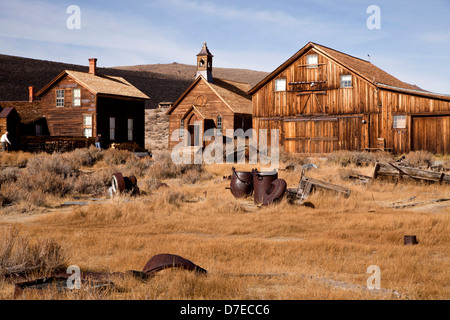 ghost town Bodie, California, United States of America, USA - Stock Photo