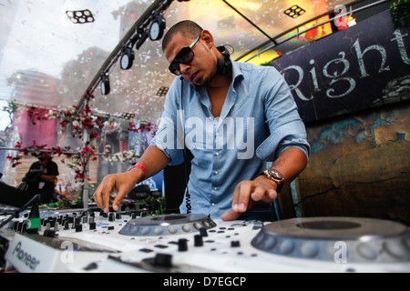 DJMag top-20 DJ: Afrojack - Stock Photo
