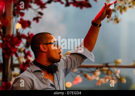 DJMag top-20 DJ: Afrojack - Stock Photo