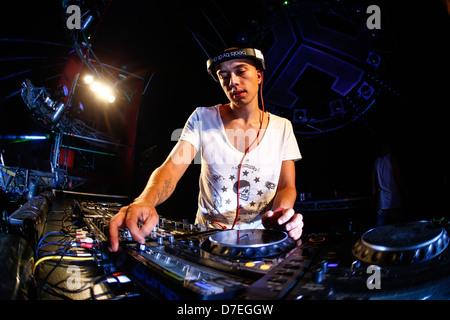 DJMag top-20 DJ: Headhunterz - Stock Photo