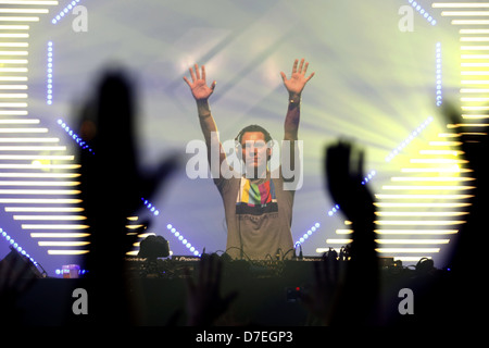 DJMag top-20 DJ: Tiesto - Stock Photo