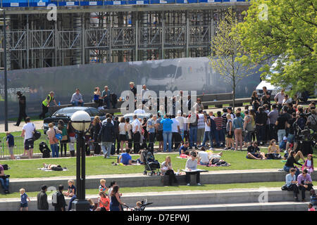 London, UK. 6th May, 2013. The Cast of Fast & Furious 6 promoting the new film at Potters Field, London. - Stock Photo