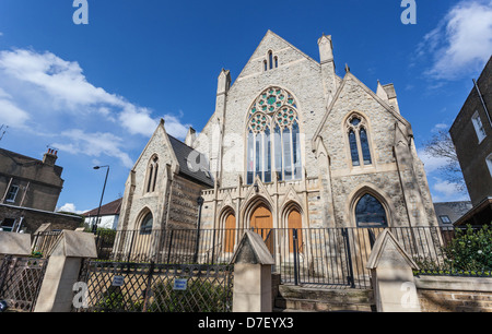 Highgate Road Chapel, Chetwynd Rd, London Borough of Camden, NW5 1BU - Stock Photo