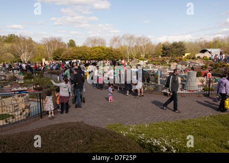 Legoland Theme Park, Windsor, Berkshire, United Kingdom. - Stock Photo