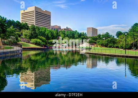 Finlay Park in Columbia, South Carolina. - Stock Photo
