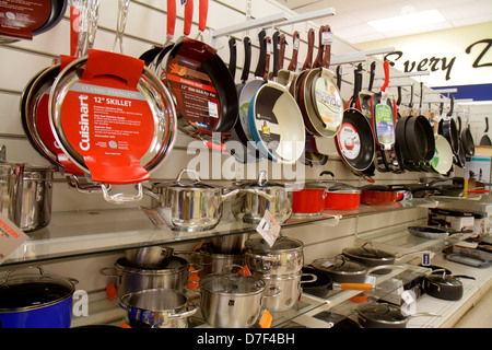 Ordinaire ... Miami Florida Marshallu0027s Discount Department Store Shopping Retail  Display For Sale Pans Cookware Pots Skillet Kitchen