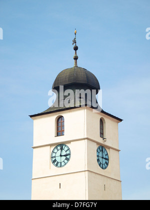 Sibiu, Turnul Sfatului - Council Tower. - Stock Photo