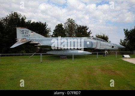 McDonnell RF-4C Phantom II , Aircraft Collection Hermeskeil, Germany, Europe - Stock Photo
