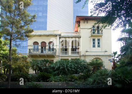house in 46 rothschild boulevard, tel aviv (2007) - Stock Photo