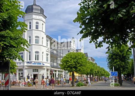 Germany, Mecklenburg-West Pomerania, island Rügen, Ruegen, Binz, Baltic sea - Stock Photo