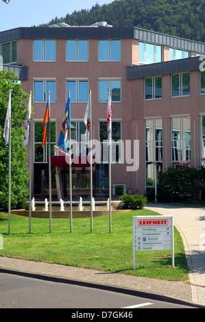 Deutschland, Germany, Rheinland-Pfalz, Nassau Lahn, industry, Leifheit - Stock Photo