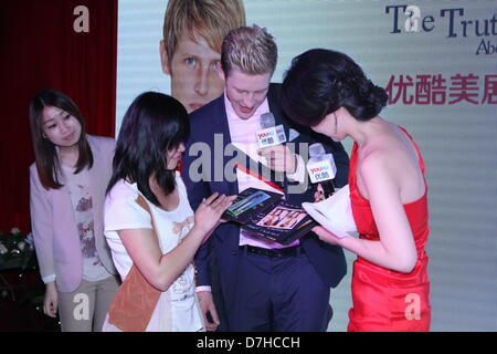 Gabriel Mann at fans meeting activity in Beijing, China on Tuesday May 07, 2013. - Stock Photo