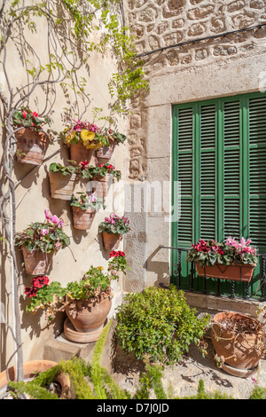 valldemossa,mallorca,balearic islands,spain - Stock Photo