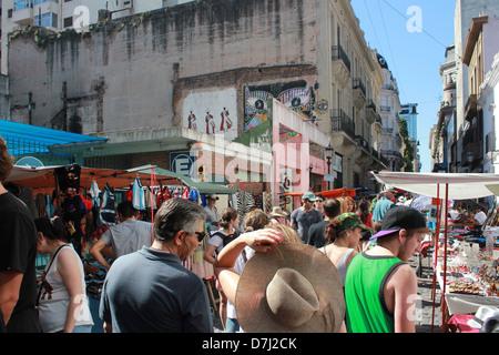 Buenos Aires flea market - Stock Photo