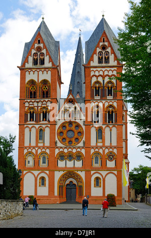 The cathedral in Limburg an der Lahn, Hesse, Germany - Stock Photo