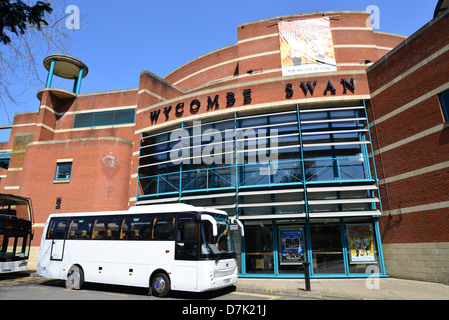 Wycombe Swan Theatre, St Mary Street, High Wycombe, Buckinghamshire, England, United Kingdom - Stock Photo