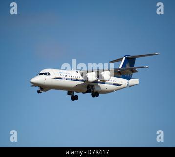 QinetiQ British Aerospace Avro 146-RJ100 ETPS. - Stock Photo