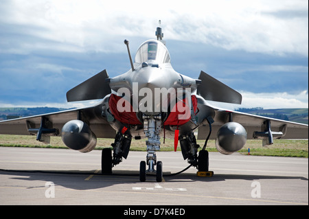 France - Navy Military Single & Two Seat Dassault Rafale Fighter Jet.  SCO 9048 - Stock Photo