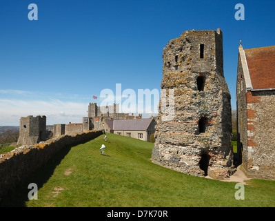 Dover Castle. - Stock Photo