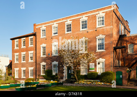 Bridgford Hall, an 18th century grade II listed Georgian manor house used as a registry office and apart-hotel, - Stock Photo