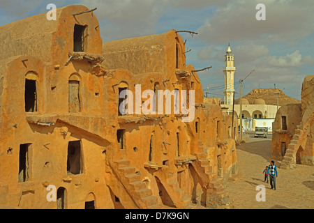 Ksar Ouled Soltane, Tataouine Province, Tunesia. - Stock Photo