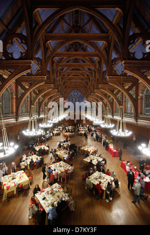 Boston Landmarks Orchestra Gala in Annenberg Hall  at Harvard University in Cambridge Massachusetts - Stock Photo