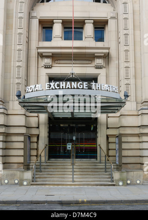 Royal Exchange Theatre in Manchester - Stock Photo