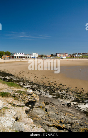 beach whitemore bay barry island vale of glamorgan south wales - Stock Photo