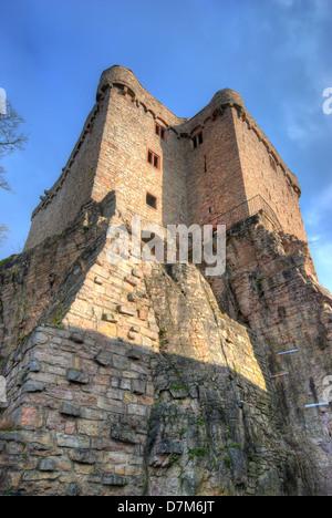 Hohenbaden, the old castle of Baden-Baden in Germany