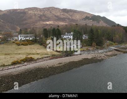 North Ballachulish Scotland  April 2013 - Stock Photo