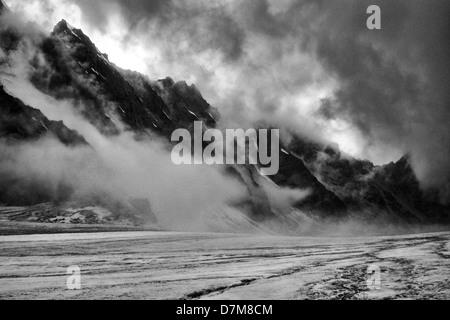 Ala Archa National Park, Tian Shan mountains, Kyrgyzstan - Stock Photo