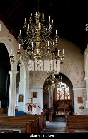 St. Andrew`s Church, Colyton, Devon, England, UK - Stock Photo