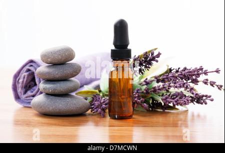 Lavender aromatherapy - Stock Photo