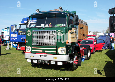 Lorry Or Truck On Show At A Classic American Car Show Tatton Park Stock Photo Royalty Free
