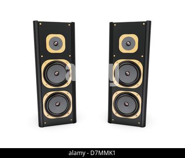 Speakers Stock Photo