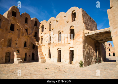 Ksar Ouled Soltane near Tataouine Tunisia - Stock Photo