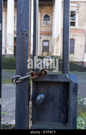 Courthouse, Crumlin Road, Belfast, Northern Ireland. Court was closed on opening of new Court House, Laganside, - Stock Photo