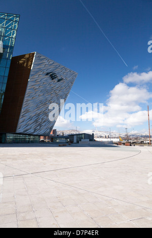 Titanic Building Belfast, Northern Ireland - Stock Photo