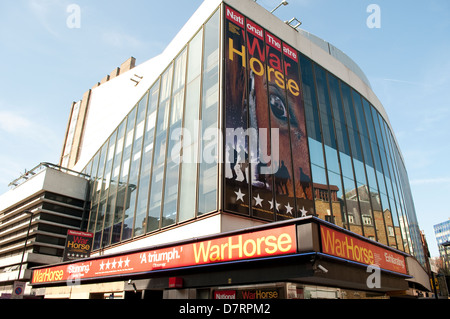 National theatre showing War Horse, Covent Garden, London, UK - Stock Photo
