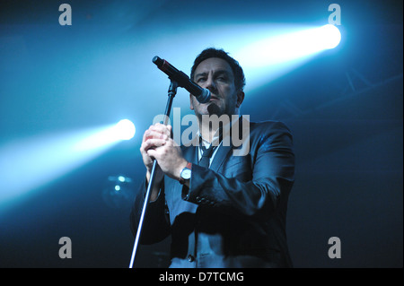 Terry Hall, The Specials, live in concert at the Barrowlands, Glasgow, Scotland. 10/05/13 - Stock Photo