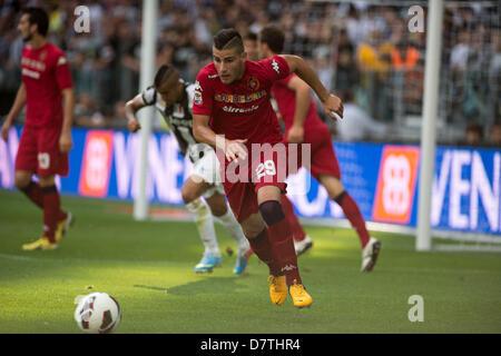 Nicola Murru (Cagliari), MAY 11, 2013 - Football / Soccer : Italian 'Serie A' match between Juventus 1-1 Cagliari - Stock Photo