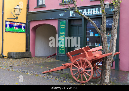 Bunratty Castle and Folk Park, County Clare, Munster, Republic of Ireland - Stock Photo