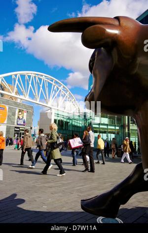 Bullring Shopping Centre, Birmingham, West Midlands, England, United Kingdom - Stock Photo
